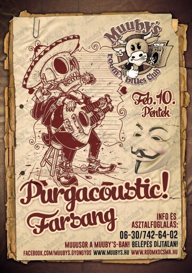 purga farsang február 10