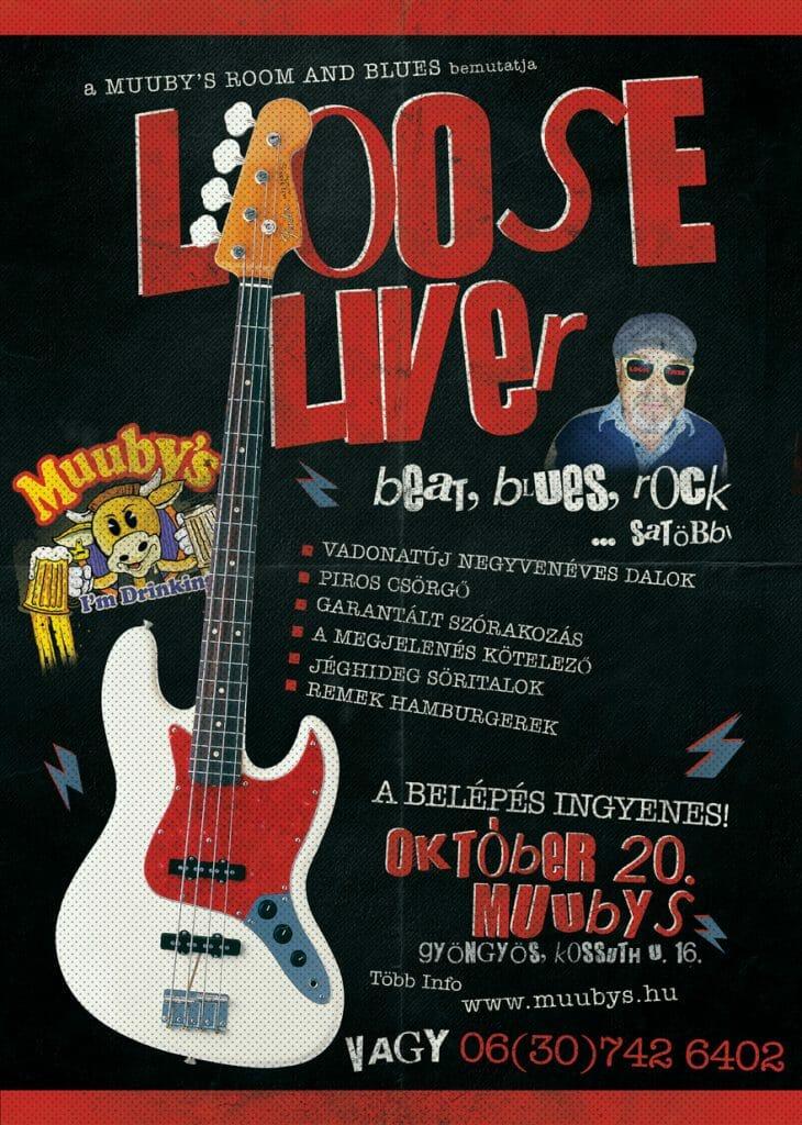 Ismét koncertezik a gyöngyösi Loose Liver!